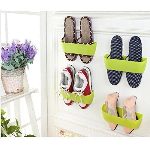 Fashion Modern HouseholdHighpot DIY Hanging Wall Shoes Rack