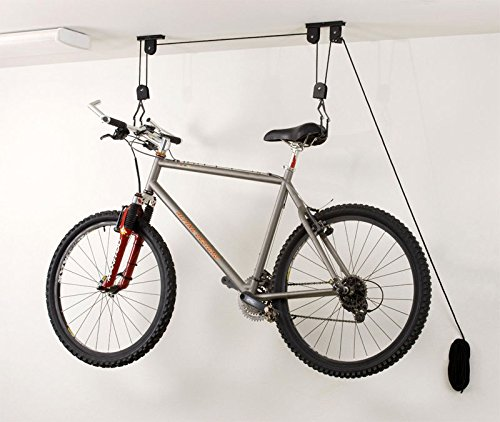 Thegood88 Ceiling Mounted Bicycle Hanger Storage Garage Closet