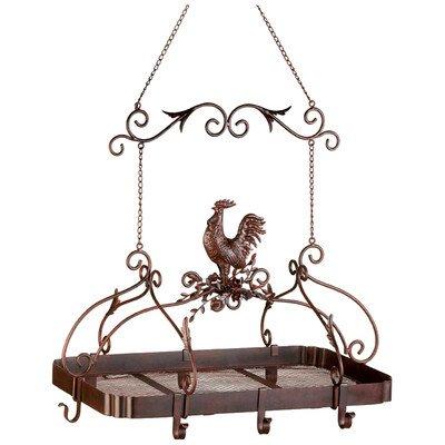 Rooster Hanging Pot Rack