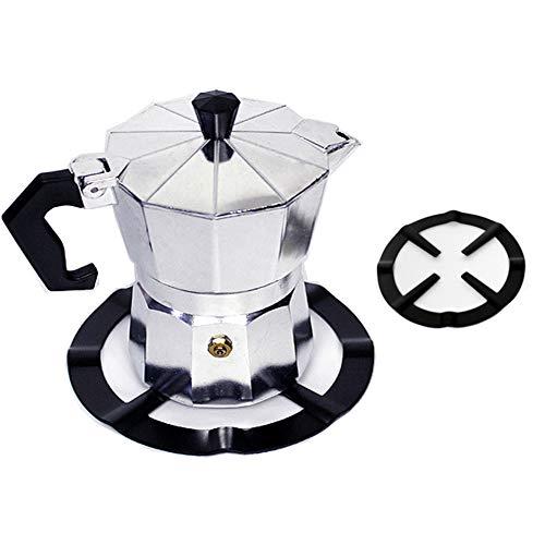 shlutesoy Natural gas black shelf gas stove shelf coffee pot holder moka pot shelf Kitchen Tool