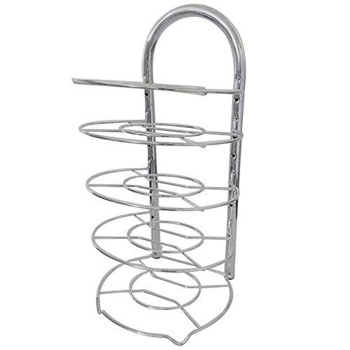 KeoKasu - Adjustable Kitchen Supplies Multifunctional Stand Multilayer Pot Pan Storage Holder Rack