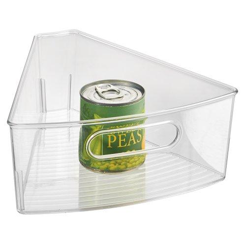 InterDesign Kitchen Lazy Susan Pantry Cabinet Binz 18 Clear