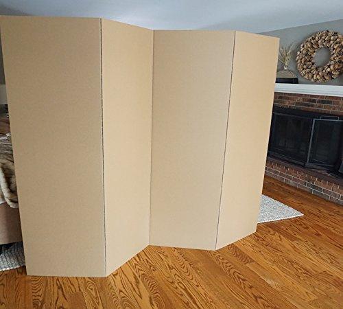 DormCo Privacy Room Divider 2-Pack - Kraft