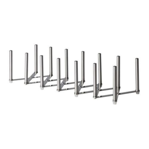 Ikea VARIERA 70154800 Pot Lid Organizer Stainless Steel