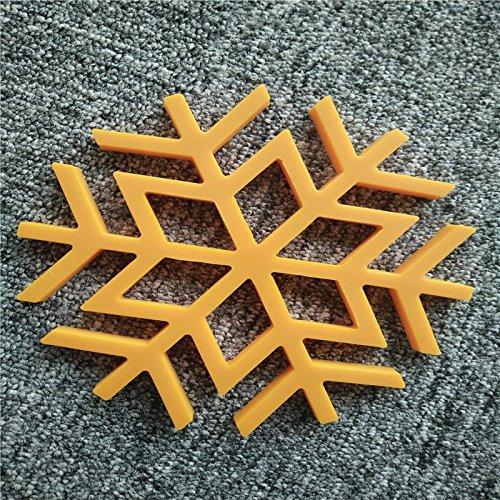 UnpreTM 1PC New SnowFlake Silicone Kitchen Trivet Pot Pan Holder Mat Heat Non-slip Resistant