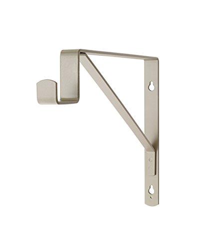 ClosetMaid 8908 SuiteSymphony Center Rod Bracket Nickel