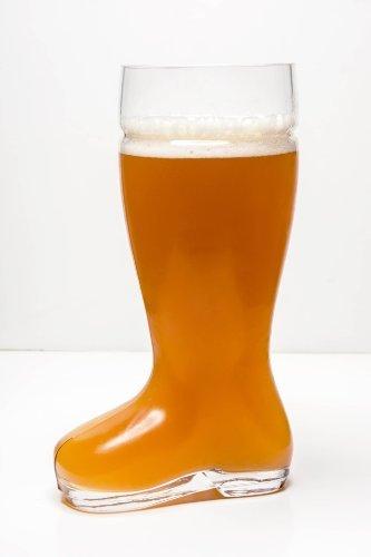 Oktoberfest Style Glass Beer Boot  Das Boot - Octoberfest Glass Beer Mug - 2 Liter