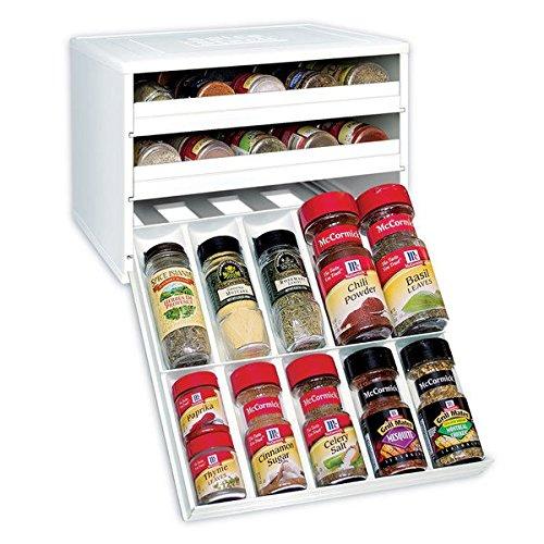 Home Kitchen 3 Drawer Spice Rack Organizer
