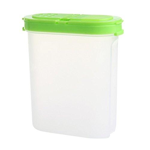BCHZ Spice Double Jars Bottle Rack Shaker Plastic For Seasoning Condiment Sugar Salt GN
