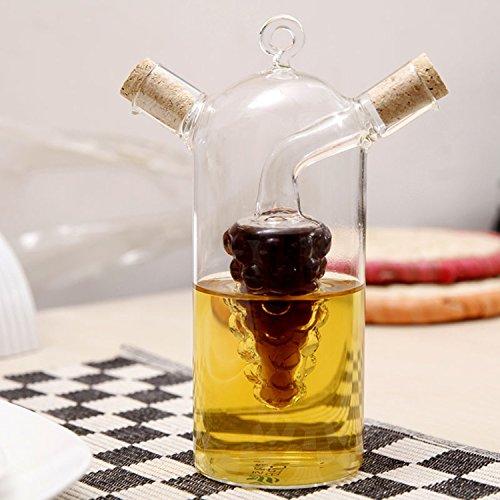 Glass Sauce Pot Soy Oil Bottle Seasoning Jar The Vinegar Saucewinecondensed Milkhoney Cooking Oilsoybean Milkfruit Juice