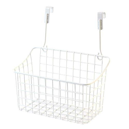 Spice Jar and Food Storage Rack Cupboard attatchemnt - Kitchen Space Saver White Metal