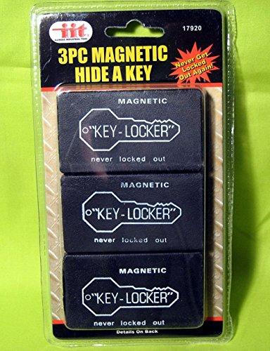 Gomangos 3 Magnetic Hide A Key Holders Spare Key Hidden Storage Safe Secret Hider Outdoor