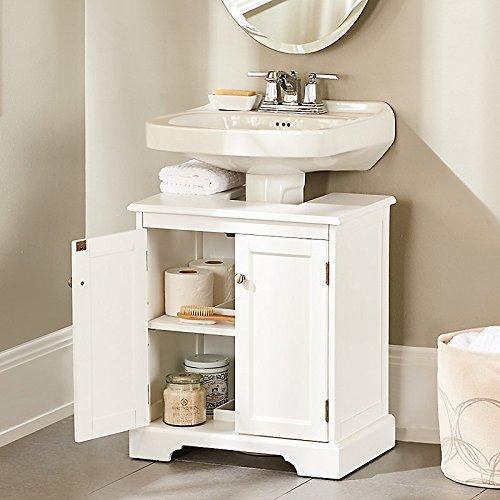 Weatherby Bathroom Pedestal Sink Storage Cabinet - Improvements
