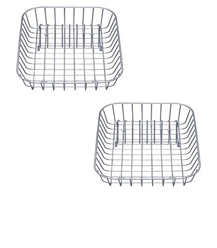 16-in W x 1225-in L x 45-in H Metal Dish Rack - 507-829 Model - BLANCO - Set of 2 Gift Bundle