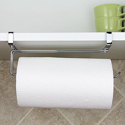 VANCORE Cabinet Door Paper Towel Holder Napkins Storage Hanger