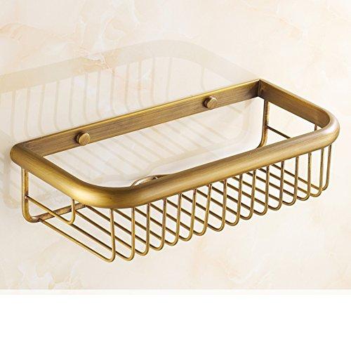 Antique Bathroom BasketCopper RacksBathroom Racks-A