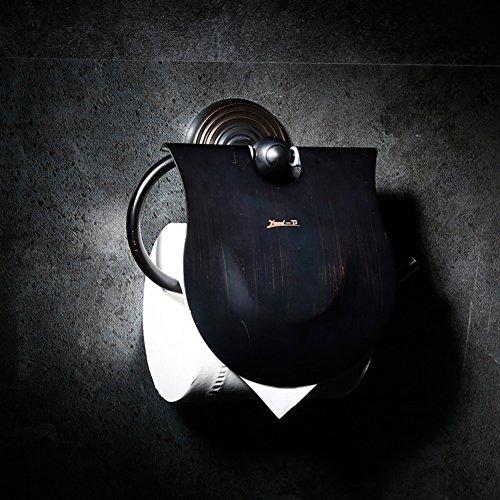 European Style Towel RackAll Copper RackTowel ShelfRetro Bathroom Pendant-E