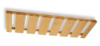 Omega National Stemware Holder 8 Rows 36 Maple