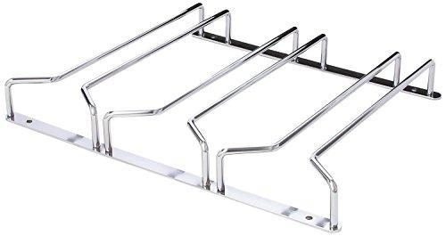 Under Cabinet Wine Glass Rack By Oenophilia Stemware Storage Organize New