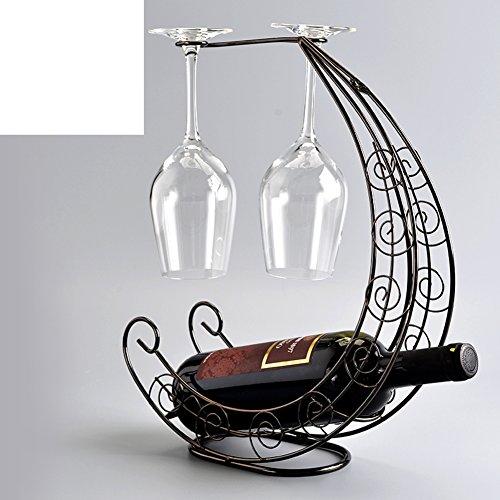 Creative fashion wine rackEuropean wine cup holderCorsair goblets rackDecoration-H