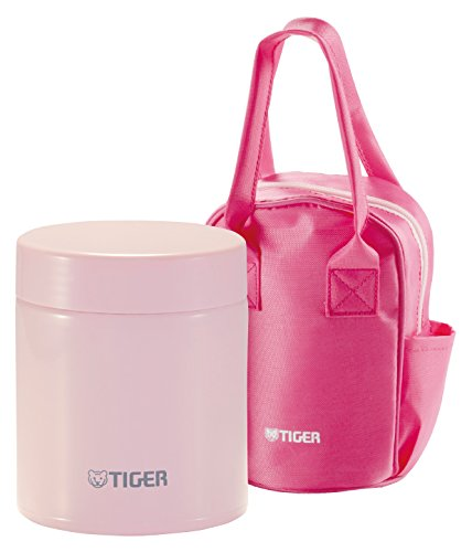 Tiger Corporation MCJ-A050 Stainless Steel Food Jar 16 oz Framboise Pink