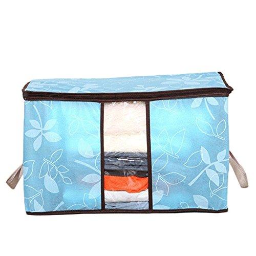 VALINK Durable Dustproof Packing Bag Portable Clothing Quilt Pillow Blanket Storage Bag Organizer Travel Luggage Storage Zipper Bag
