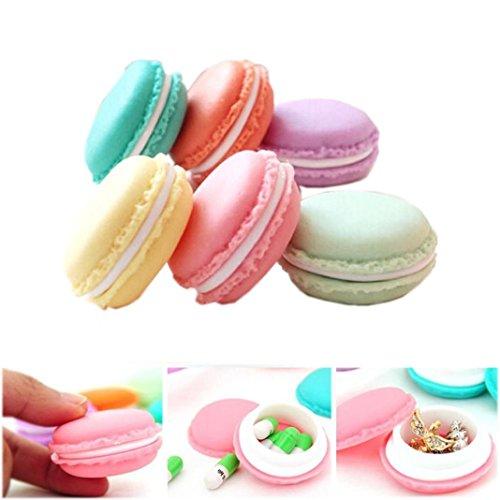 Lavany Mini Macarons Organizer Storage Box Travel Bags A
