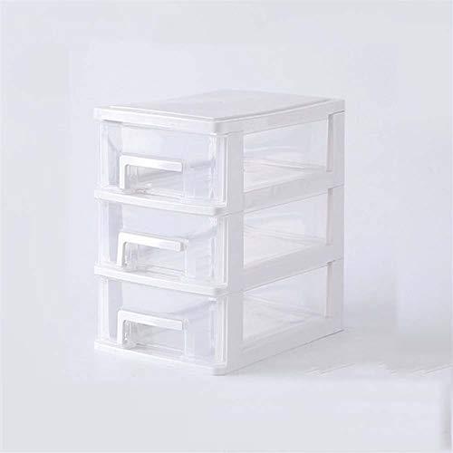 QTWL Cosmetic Storage Box Small Drawer Desk Storage Cabinet Plastic Mini Storage Box Color  C Size  152211192cm
