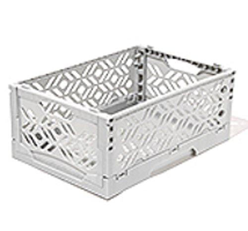 Storage Box Mini Foldable 93 x 63 x 393 Package 5 Package Mono Tone Color Tone 5 Light Gray