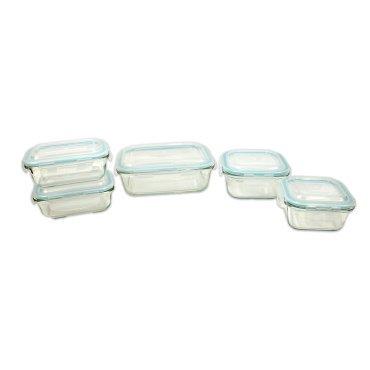 Proctor Silex 10 Piece Glass Storage Set 09156