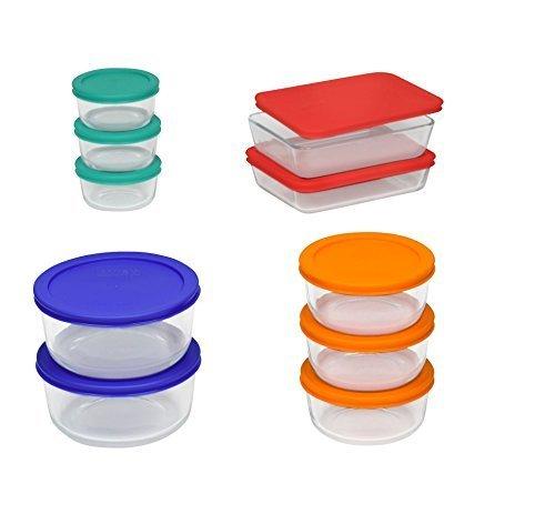 Pyrex Glass Storage Set - 20 Pc by Pyrex