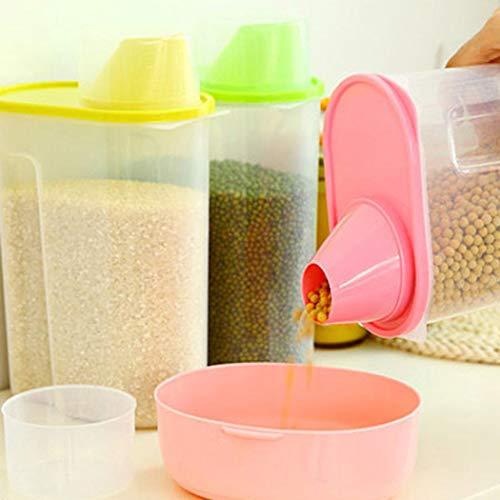 Shonlinen Transparent Plastic Sealed Fresh-keeping Food Storage Container Storage Jar Food Storage Organization Sets