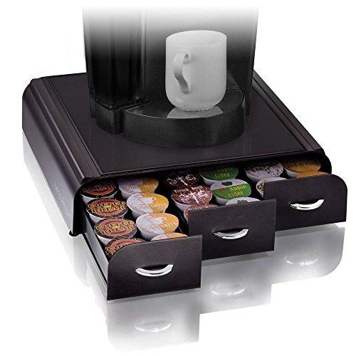 Anchor Keurig K-cups Pods Storage Coffee Holder Organizer Cups Drawer Black Case