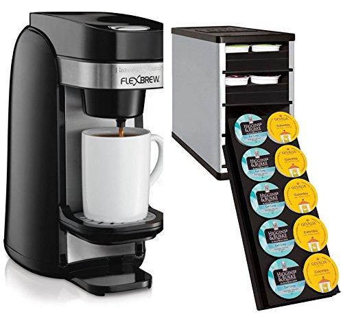 Hamilton Beach 49997 Single Serve Coffee Maker with K-Cup Organizer