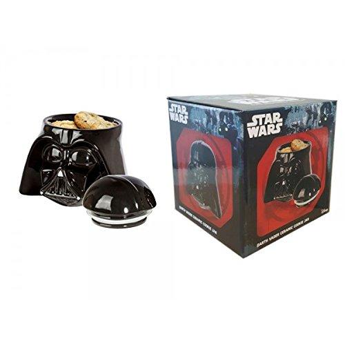 Star Wars Darth Vader Ceramic Cookie Jar Black