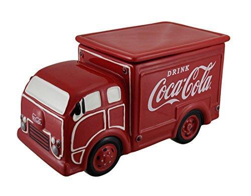 Westland Giftware Ceramic Cookie Jar 65-Inch Coca-Cola Delivery Truck