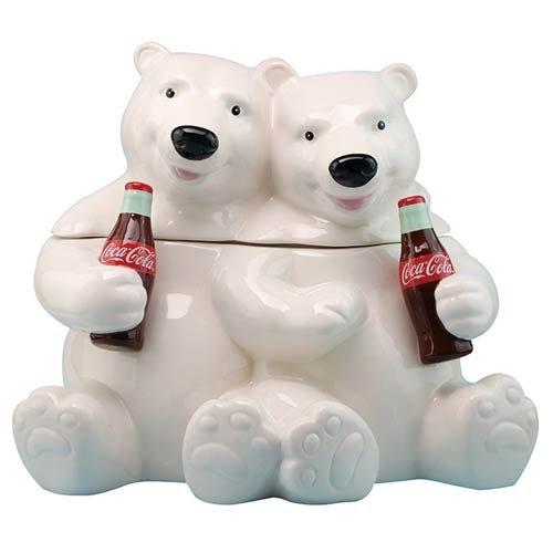 Westland Giftware Hugging Bears Ceramic Cookie Jar Multicolor