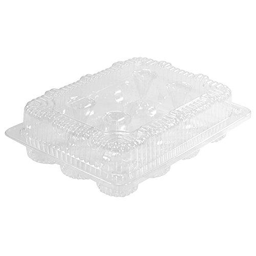 1 Dozen Mini Cupcake Container 12 cavities 12 ct