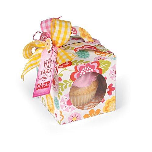 Sizzix Cupcake Box Sizzi by 6-Inch by 1375-Inch Bigz Die X-Large