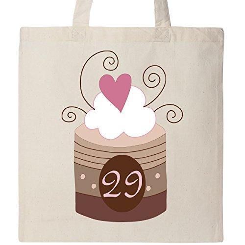 Inktastic 29th Birthday Cupcake Tote Bag Natural