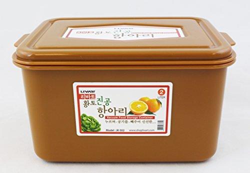 Livart Vacuum Food Storage Container 2 Liters