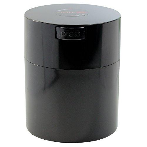 Coffeevac 12 lb - The Ultimate Vacuum Sealed Coffee Container Black Cap Body