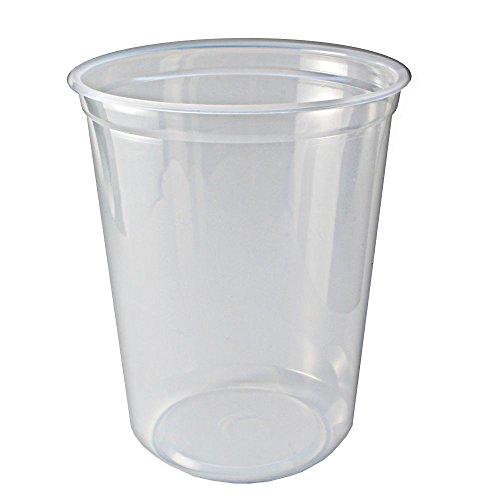 Fabri-Kal 9505104 32 Oz Clear Deli Container - 500  CS