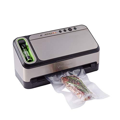 FoodSaver Vacuum Sealer 4800 Series 2-in-1 System with Starter Kit Renewed