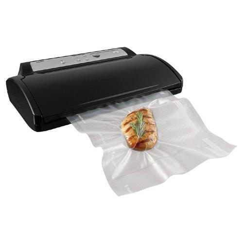 Foodsaver 2461-FeaturesItem 844607 Advanced Design Vacuum Food Sealer BLACK
