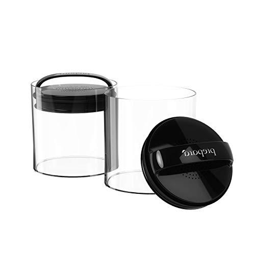 OKSLO Green grocer fresh saver large - short vacuum seal food storage container black Model 15117-21014-14644-16649