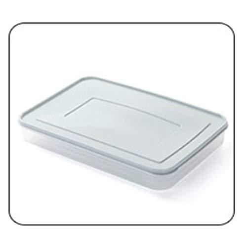 Single Layer Refrigerator Dumplings Storage Box Plastic Freezer Fridges Space Saver Food Container Organizer Box
