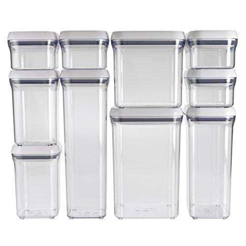 OXO Good Grips 10-Piece Airtight POP Container Value Set