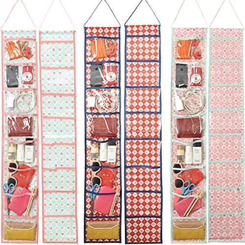 New 8 Pockets Waterproof Wall Hanging Pocket Organizer Closet Storage Hanger