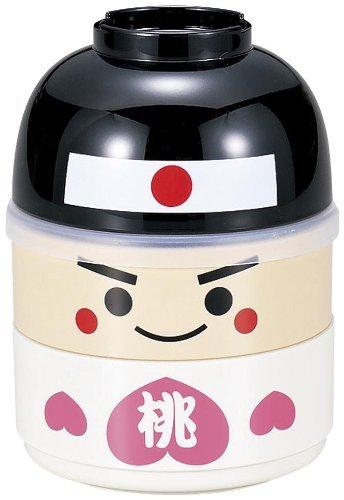 Japanese Bento Lunch BOX Hakoya Momotaro Kawaii 50623 by Samurai market